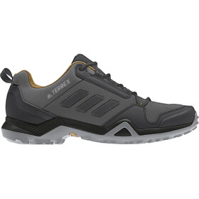 adidas TERREX AX3 Hiking Shoes Lightweight Men, grey five/core black/mesa